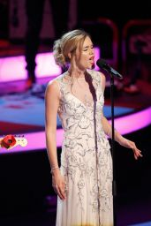 Joss Stone - Festival of Remembrance Matinee Performance in London - November 2014