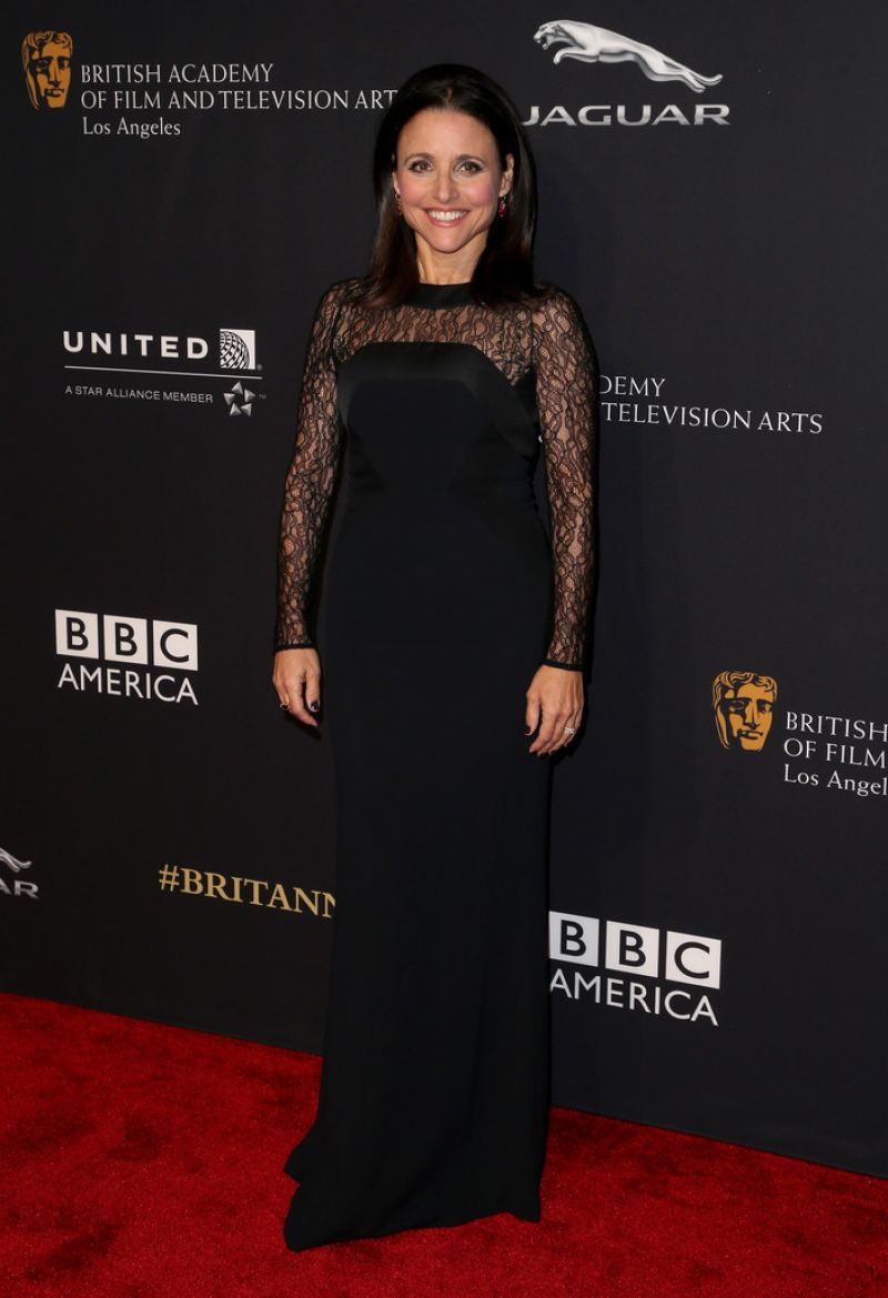 Julia Louis-Dreyfus - 2014 BAFTA Los Angeles Jaguar Britannia Awards in Beverly Hills