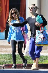 Kaley Cuoco Leaves Her Yoga Class at CorePower Yoga - November 2014