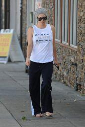 Kaley Cuoco - Leaving the Yoga Studio - November 2014