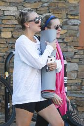 Kaley Cuoco - Leaving Yoga Class in Studio City - November 2014