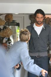Kaley Cuoco With Hubby Ryan Sweeting - November 2014