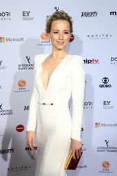 Karine Vanasse – 2014 International Academy Of Television Arts & Sciences Emmy Awards in New York City