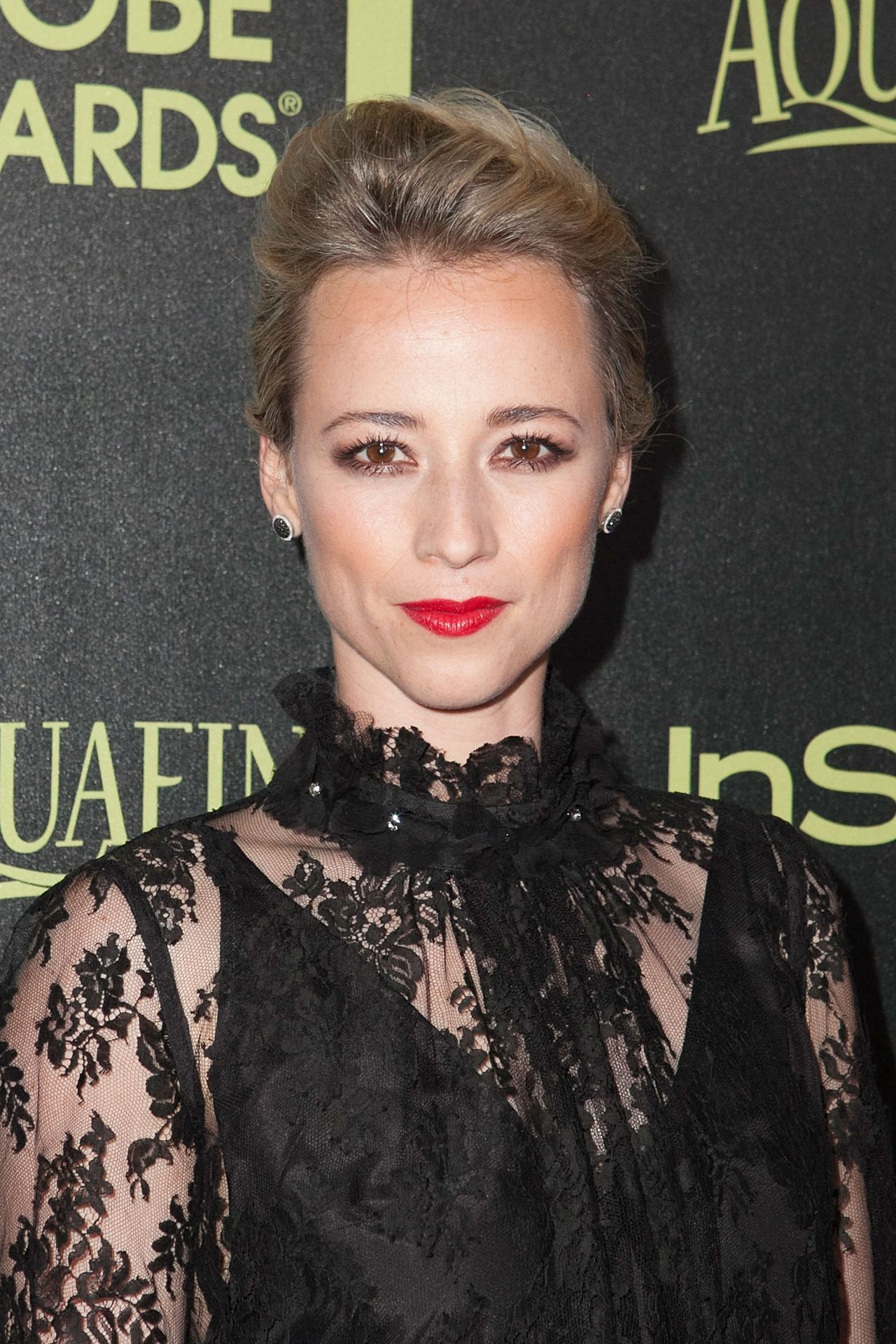 Karine Vanasse – HFPA & InStyle Celebrate 2015 Golden Globe Award Season in West Hollywood