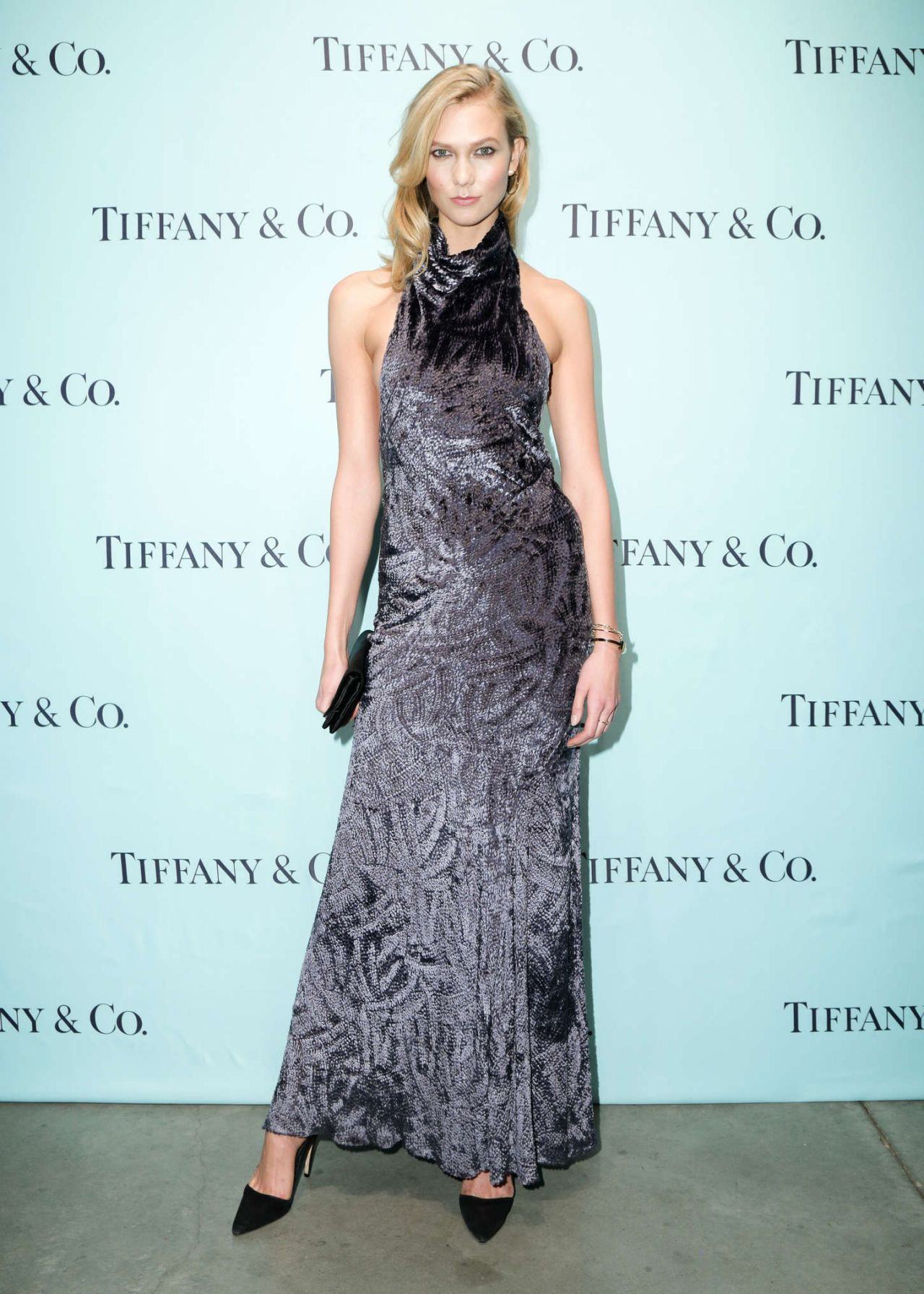 Karlie Kloss - The Tiffany T Train Experience Opening in New York - November 2014