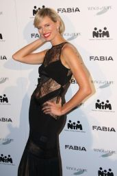 Karolina Kurkova at Fashion For Kids Event in Prague - November 2014