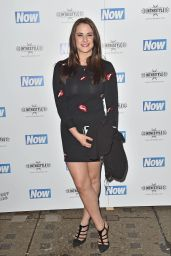 Kat Shoob at the Now Christmas Party in London - November 2014