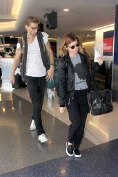 Kate Mara Street Style - at LAX Airport - November 2014