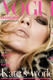 Kate Moss - Vogue Magazine (UK) December 2014 Issue