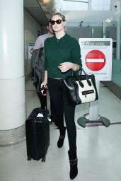 Kate Upton in Tight Jeans at LAX Airport - November 2014