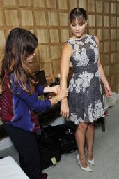 Katharine McPhee - Preps for a Press cConference in Los Angeles, November 2014
