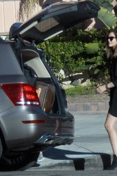 Katharine McPhee Shows Off Her Legs - Out in Los Angeles, November 2014