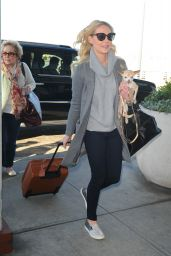 Katherine Heigl - Flying Out of New York, November 2014