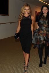 Katherine Jenkins at Artist Andrew Levitas Exhibition in Mayfair - October 2014