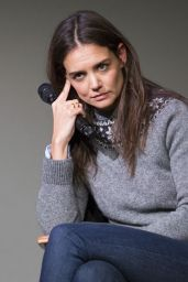 Katie Holmes in Jeans - Apple Store Soho Presents Meet The Actor in New York City