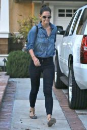 Katie Holmes Street Style - Out in Los Angeles, November 2014