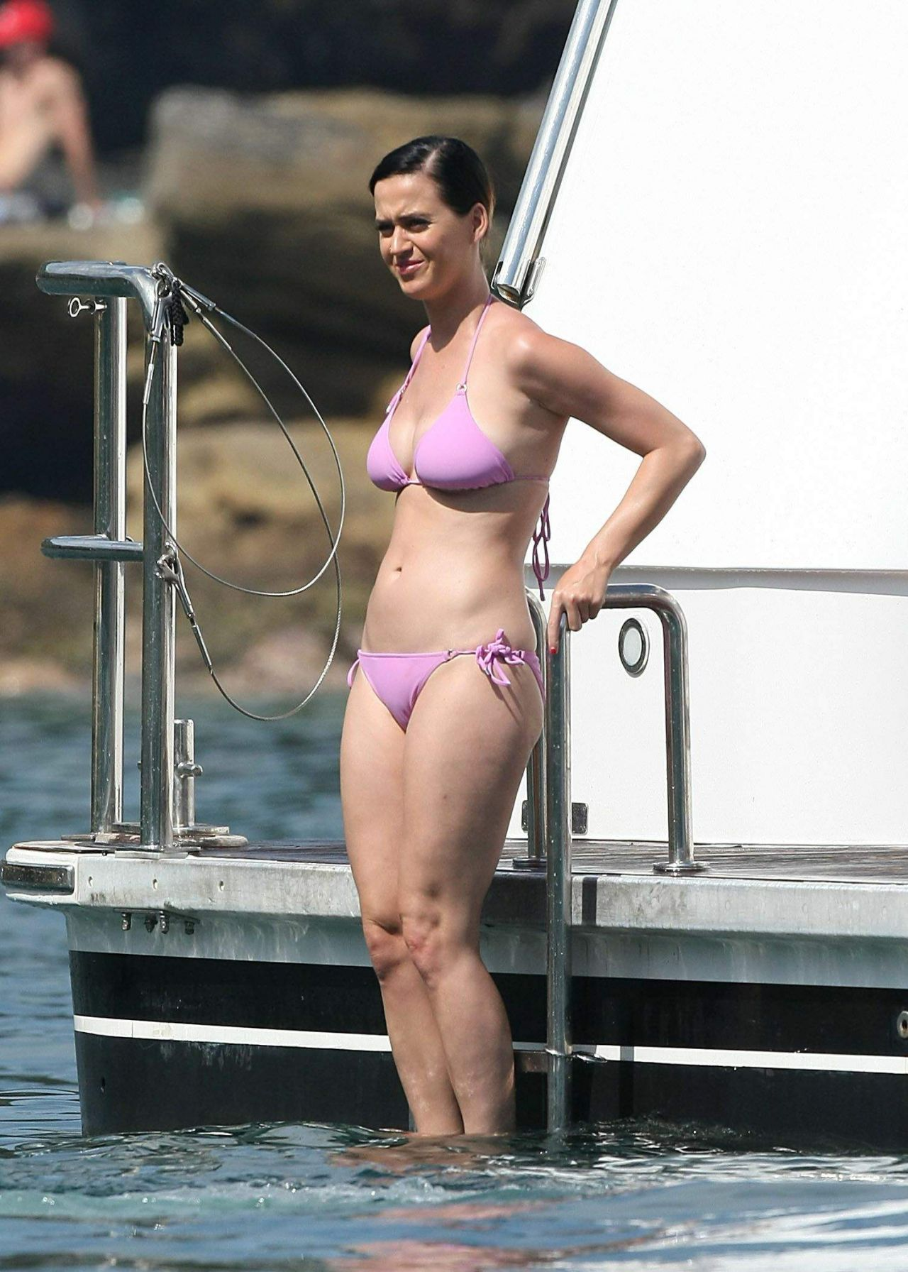 Katy Perry Bikini Candids Sydney Harbour November 2014