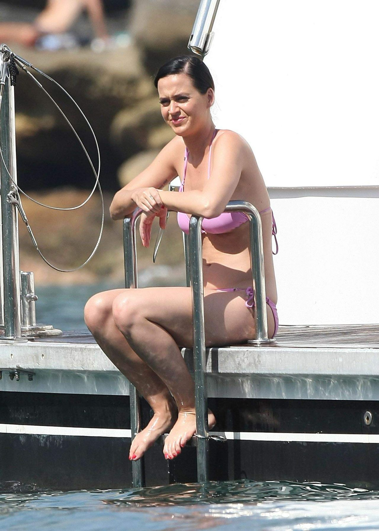 Katy Perry Bikini Candids - Sydney Harbour, November 2014 кэти перри 2017