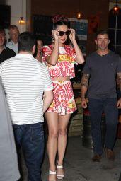 Katy Perry in Mini Dress - Out in Toorak in Australia - November 2014
