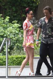 Katy Perry in Mini Dress - Out in Toorak in Australia - November 2014