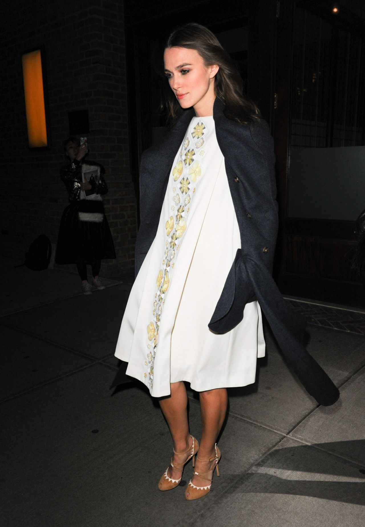 Keira Knightley - Leaves a Downtown Hotel in NYC - November 2014