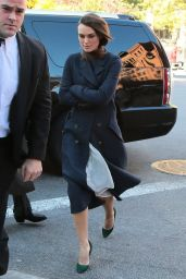Keira Knightley - Returns to Her Hotel in New York City - November 2014