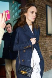 Keira Knightley Style - Leaving Her Hotel in New York City - November 2014
