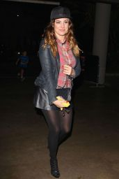 Kelly Brook at the Lakers Game in Los Angeles, November 2014