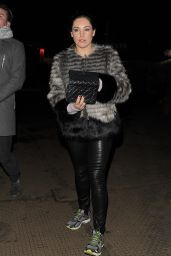 Kelly Brook - Attending Winter Wonderland 2014 in Hyde Park in London