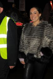 Kelly Brook - Attending Winter Wonderland 2014 in Hyde Park in London