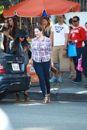 Kelly Brook - Enjoys a Day Out With Girlfriends in Los Angeles, November 2014