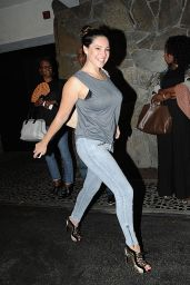 Kelly Brook in Tight Jeans - Los Angeles, November 2014
