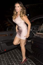 Kelly Brook Night Out Style – Cecconi's West Hollywood, September 2014