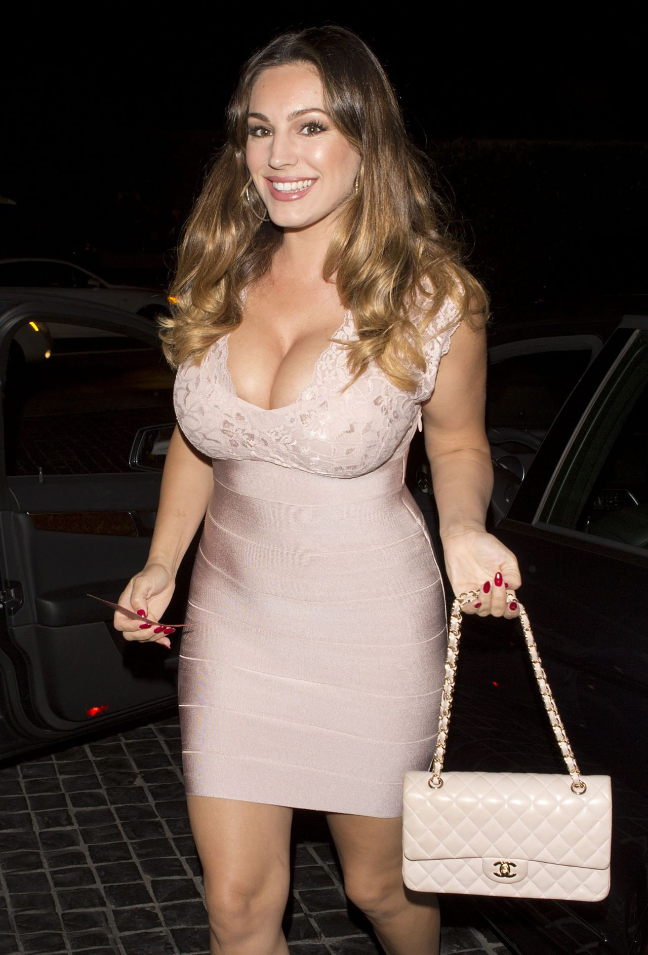 Kelly Brook Night Out Style - Cecconis West Hollywood, September 2014-1264