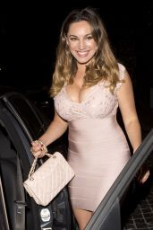 Kelly Brook Night Out Style - Cecconi