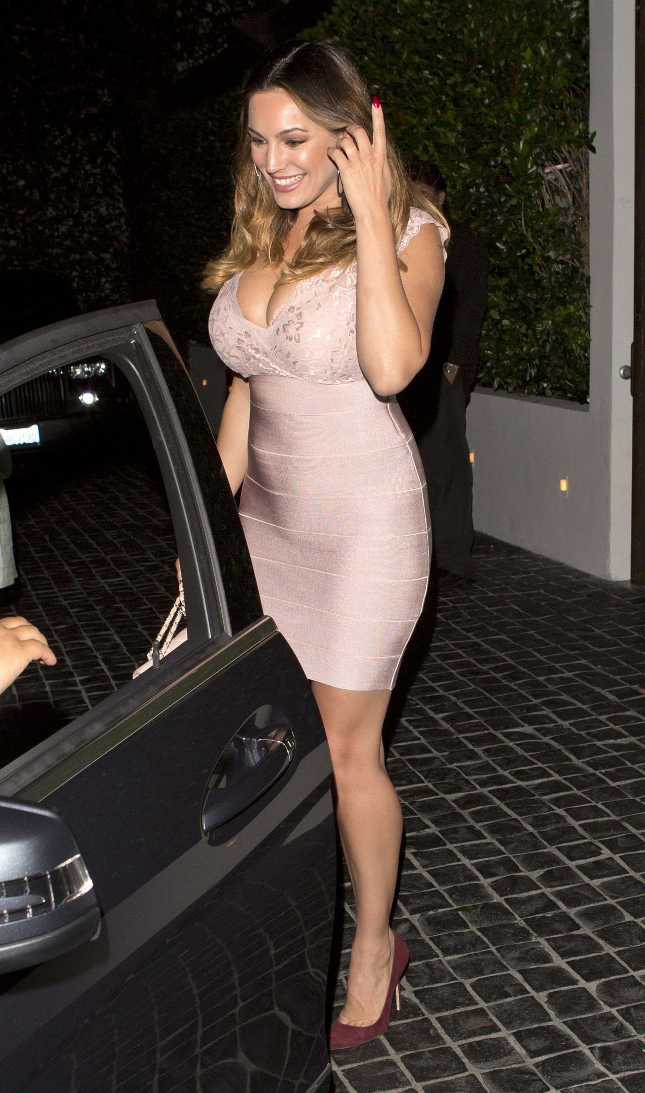 Kelly Brook Night Out Style Cecconi S West Hollywood