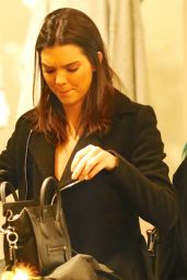 Kendall Jenner in Mini Skirt - Shopping in Beverly Hills - November 2014