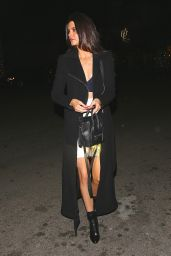Kendall Jenner in Mini Skirt - Shopping in Beverly Hills - November 2014