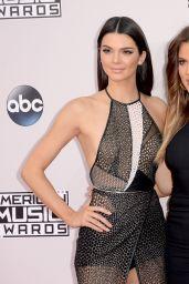 Kendall Jenner, Kylie Jenner & Khloe Kardashian - 2014 American Music Awards in Los Angeles
