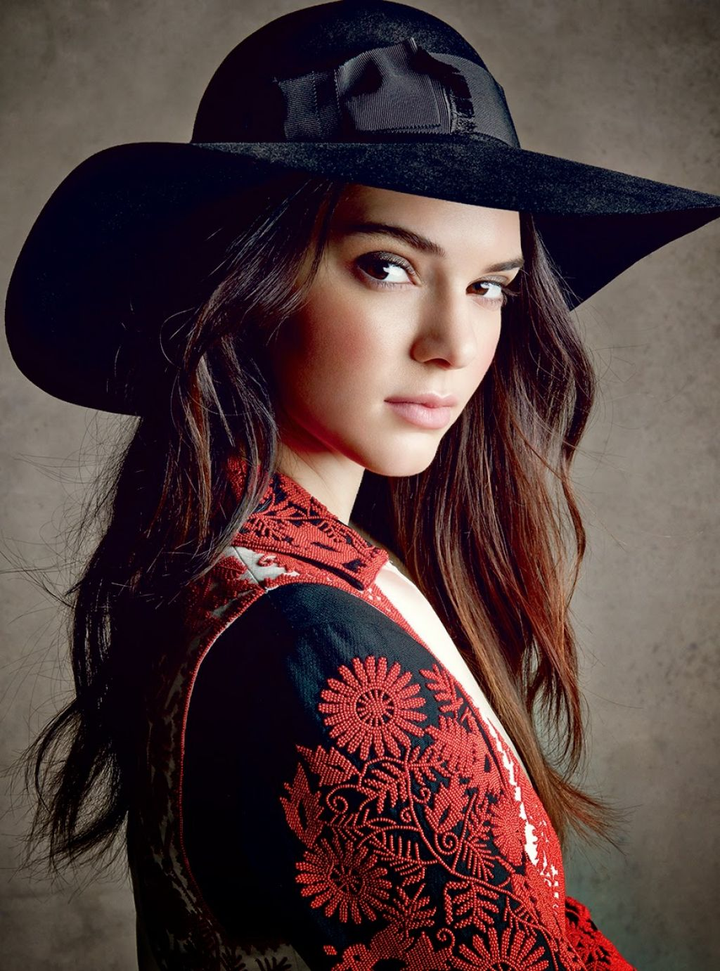 Kendall Jenner Photoshot for Vogue Magazine (US) December 2014