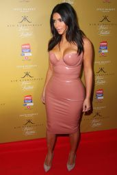 Kim Kardashian at The Fleur Fatale Perfume Launch in Melbourne - November 2014