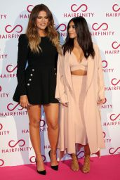 Kim Kardashian - Hairfinity UK Launch Party in London