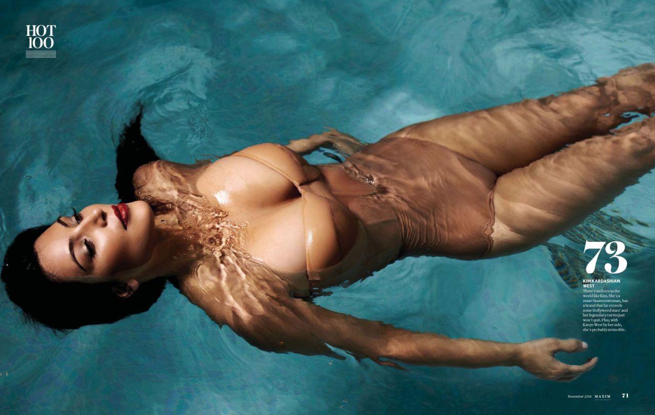 Kim Kardashian – Maxim Magazine (India) November 2014 Issue