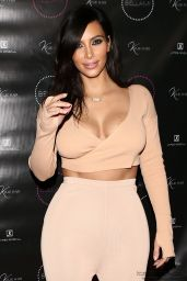 Kim Kardashian Style - Kylie Hair Kouture Launch in Beverly Hills - November 2014