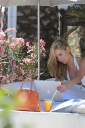 Kimberley Garner Bikini Candids - Greece, August 2014