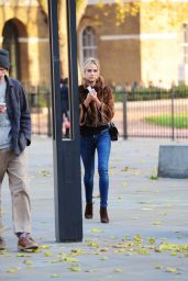 Kimberley Garner in Tight Jeans - Out in London - November 2014