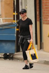 Kirsten Dunst in Leggings - Out in Los Angeles, November 2014