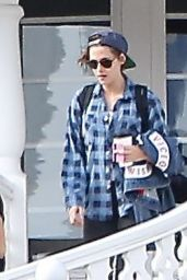 Kristen Stewart Street Style - Out in San Luis Obispo - November 2014