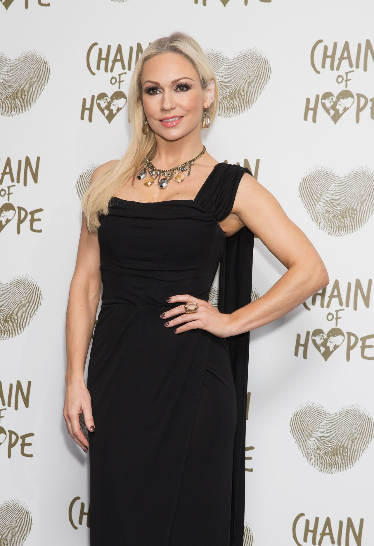 Kristina Rihanoff - 2014 Chain of Hope Gala Ball in London