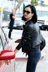 Krysten Ritter in Ripped Jeans - Out in Los Angeles - November 2014